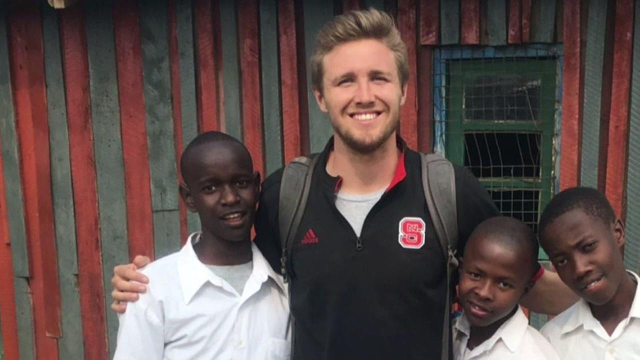 NC State punter uses spring break to better the world