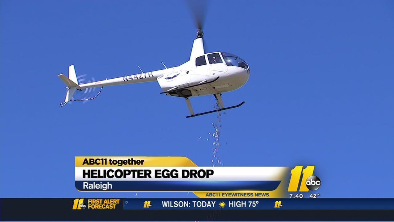 Holiday egg drop