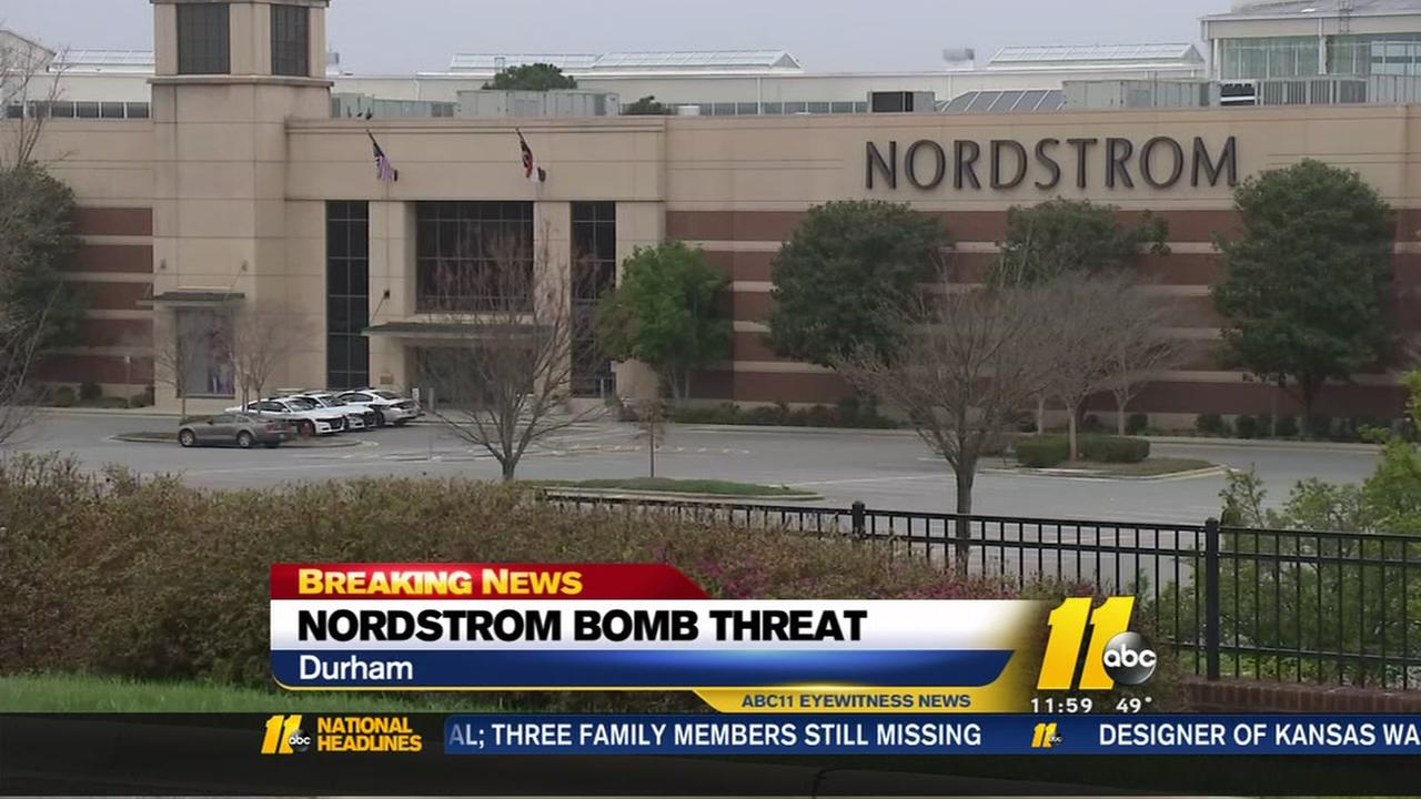 Durham police, deputies investigating another threat against Nordstrom
