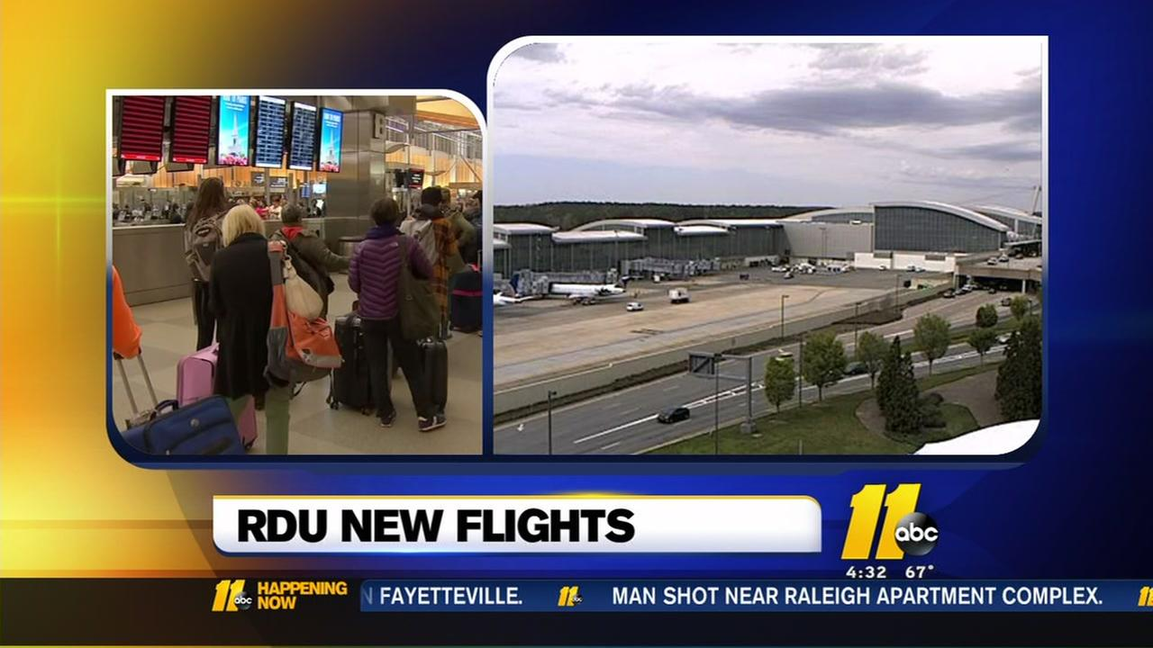 Frontier adds new flights out of RDU