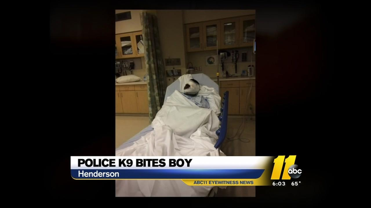 Henderson police dog bites autistic boy
