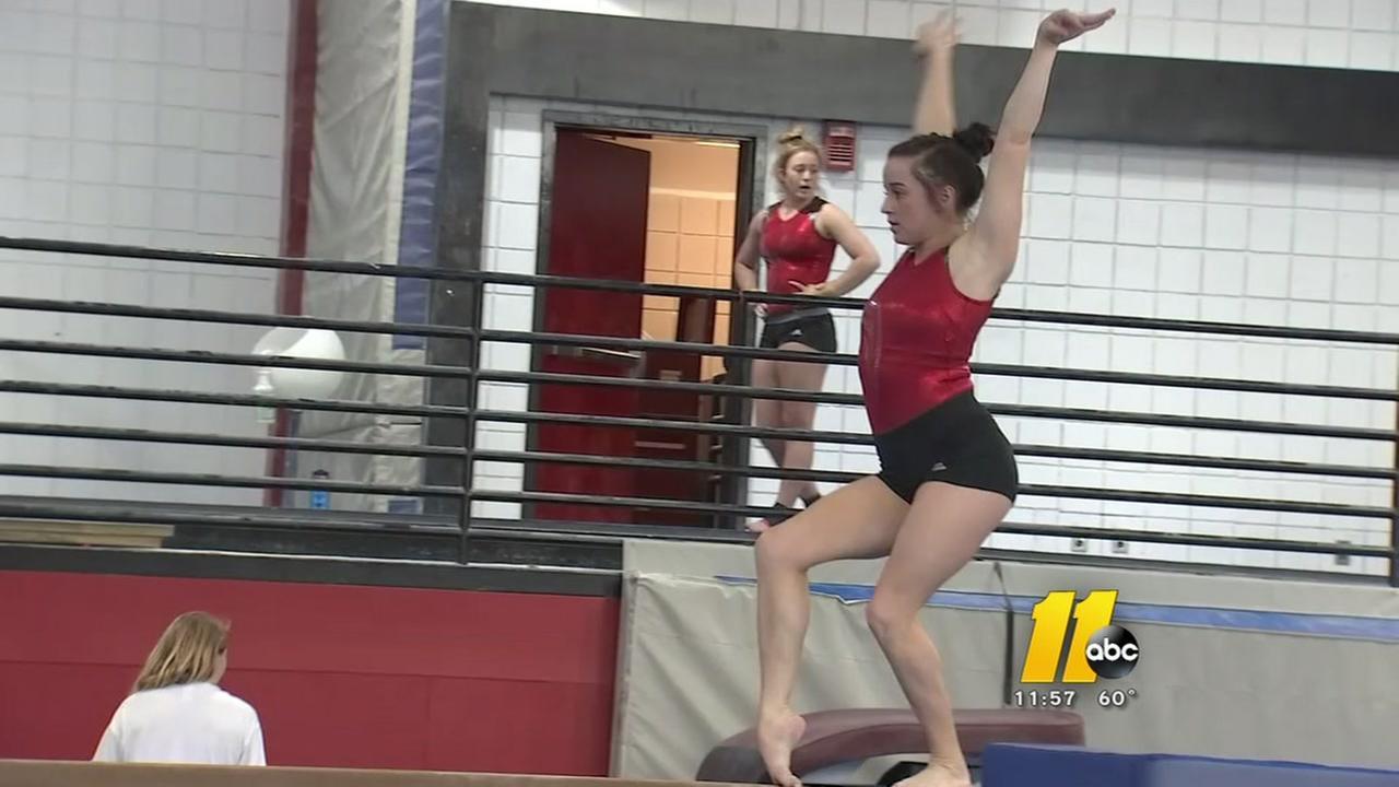NC State gymnastics team hosting NCAA Regional