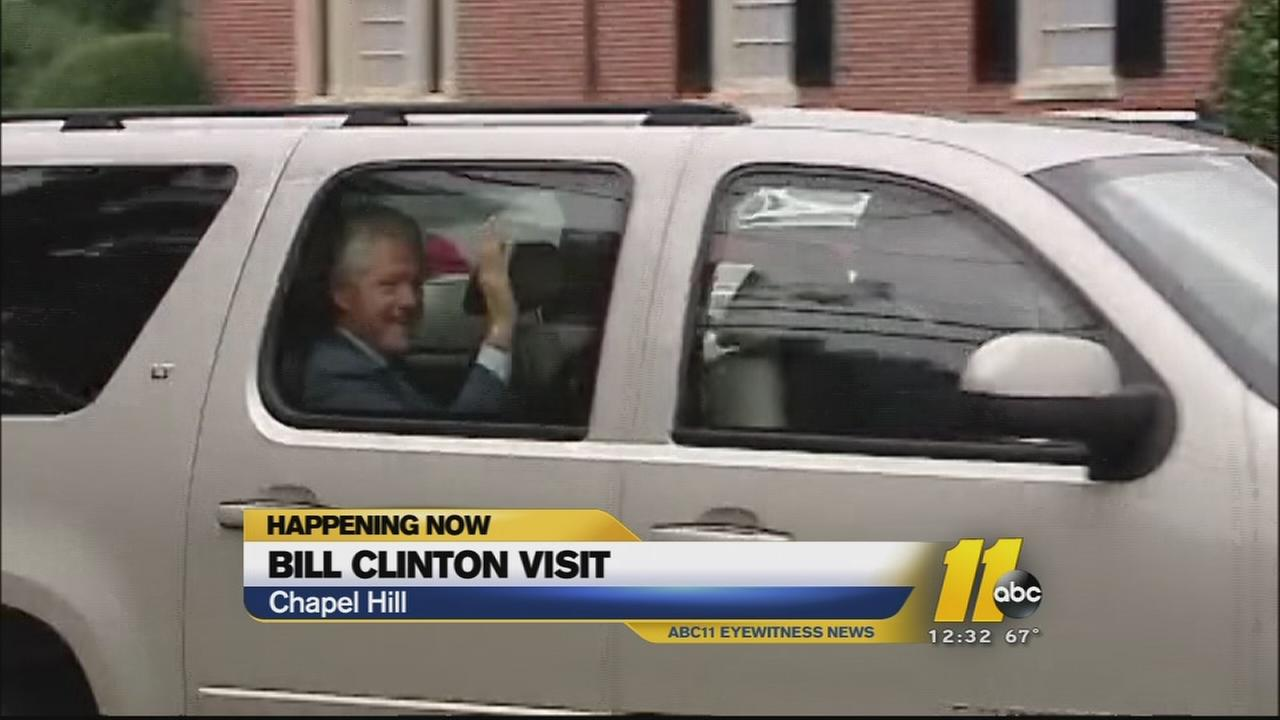 Bill Clinton headlines Kay Hagan fundraiser