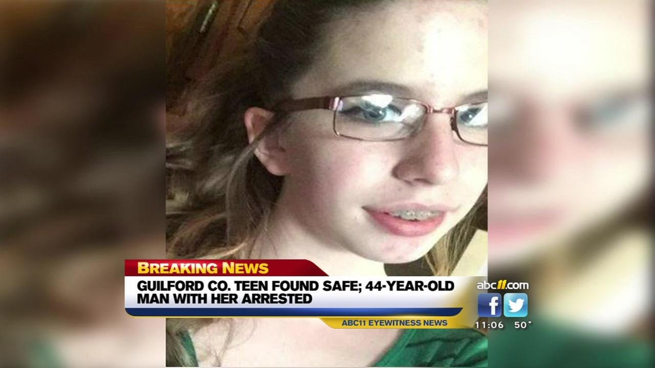 Guilford County teen found safe