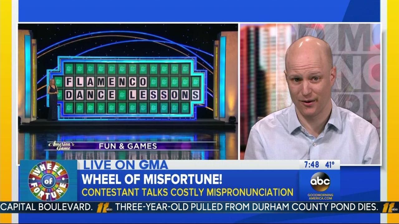 Apex man accepts Airbnb trip to Spain after Wheel flub