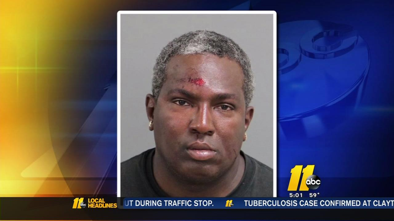 Man arrested after scuffle with Raleigh Police