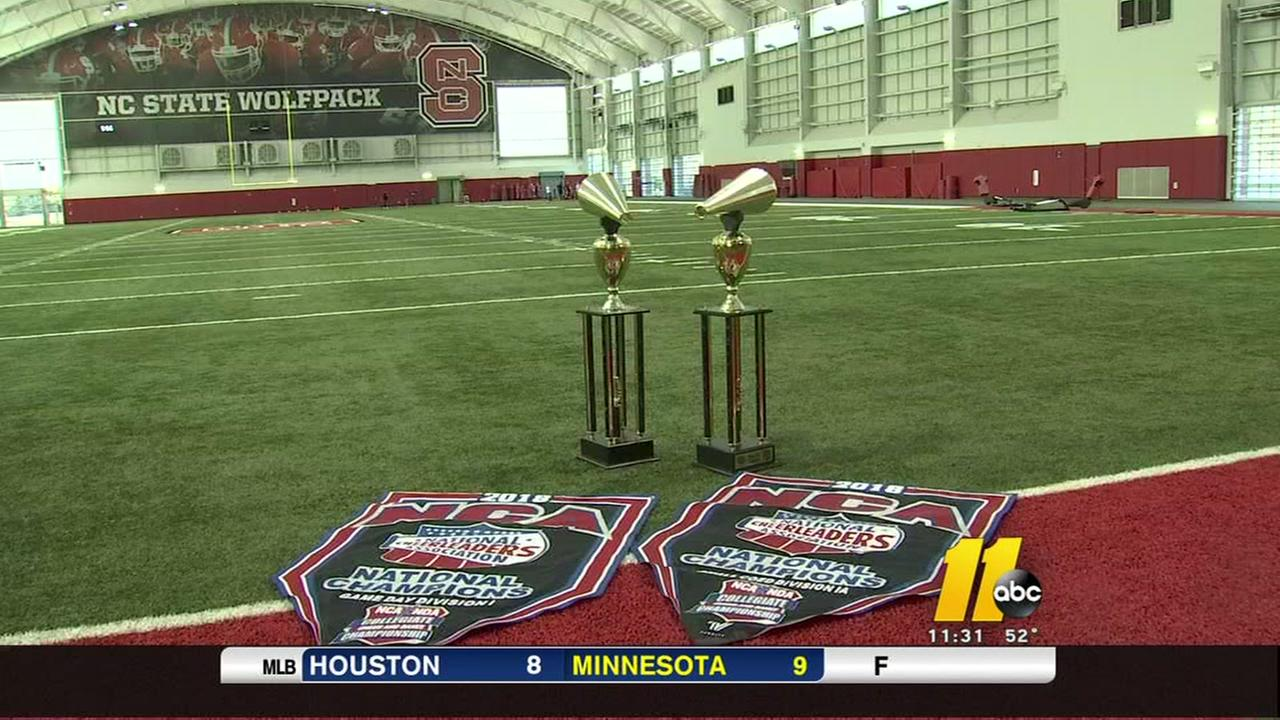 NC State brings home two cheerleading national titles