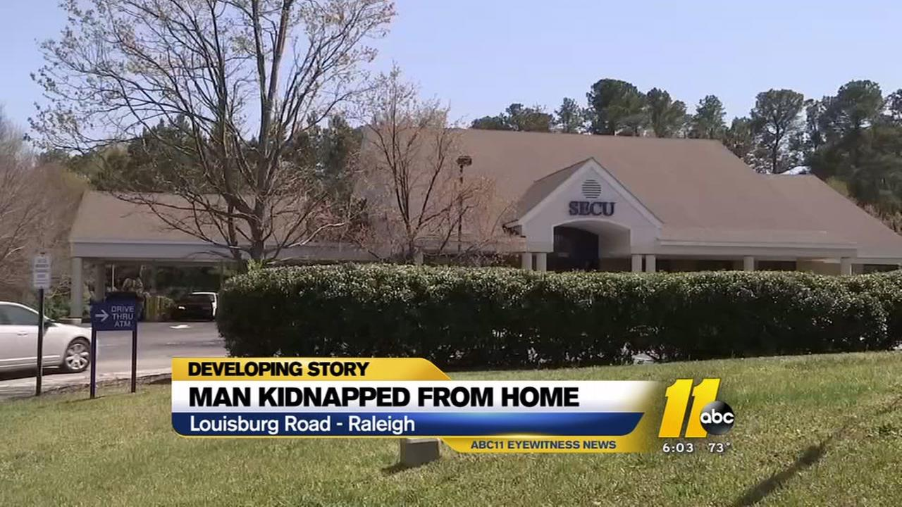 Man kidnapped, forced to withdraw money