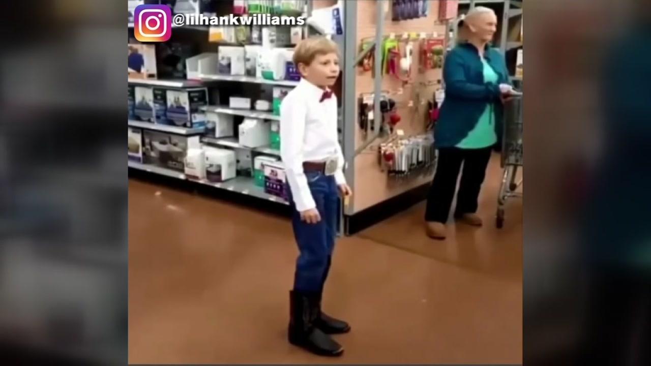Wal Mart yodeling boy
