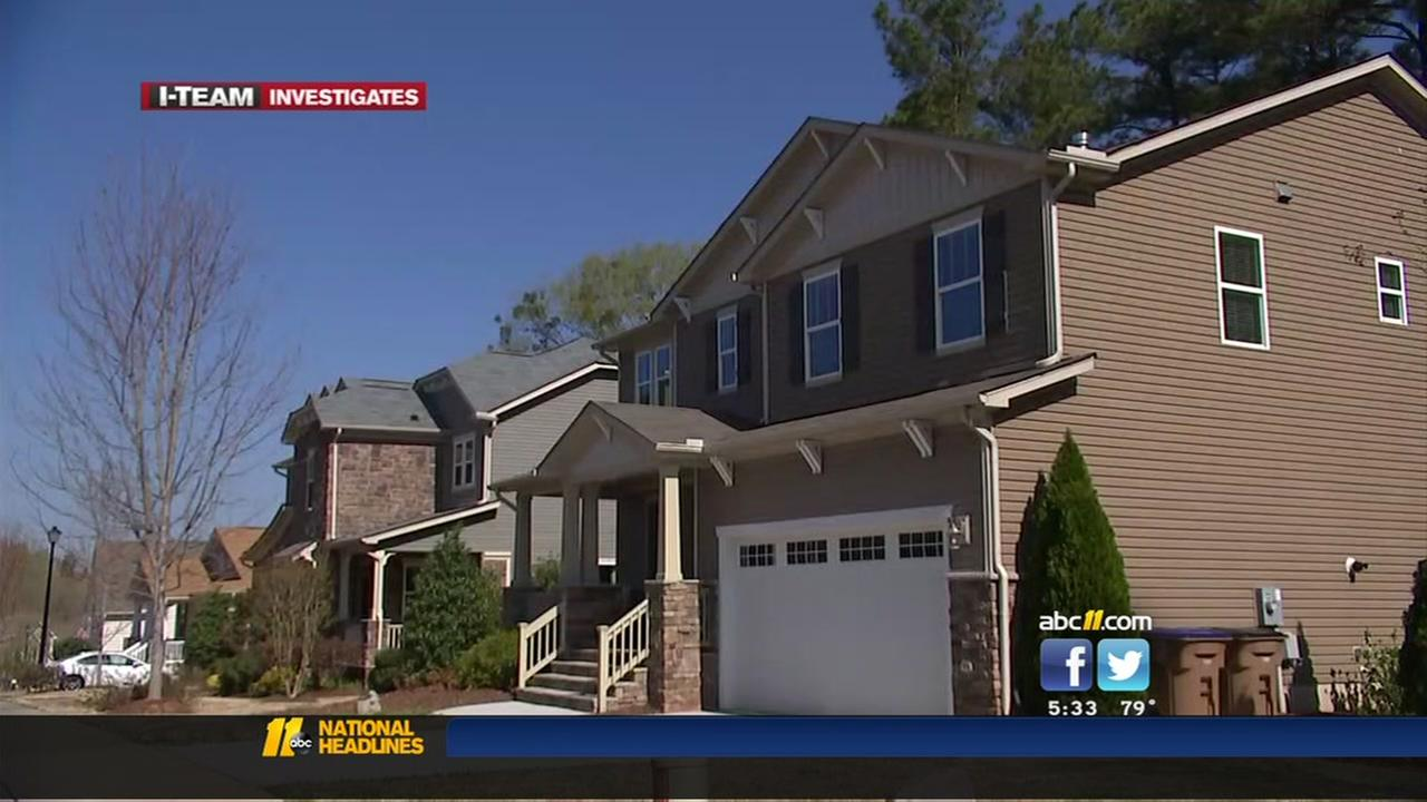 I-Team: Rancor over townhome plan in Wake Forest