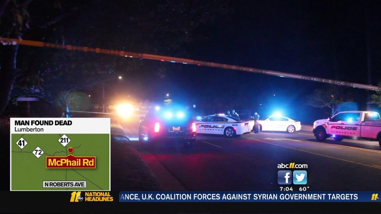 Man found dead in Lumberton