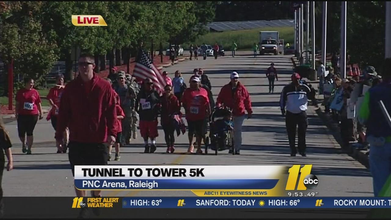 unnel to Towers 5K in Raleigh honor first responders