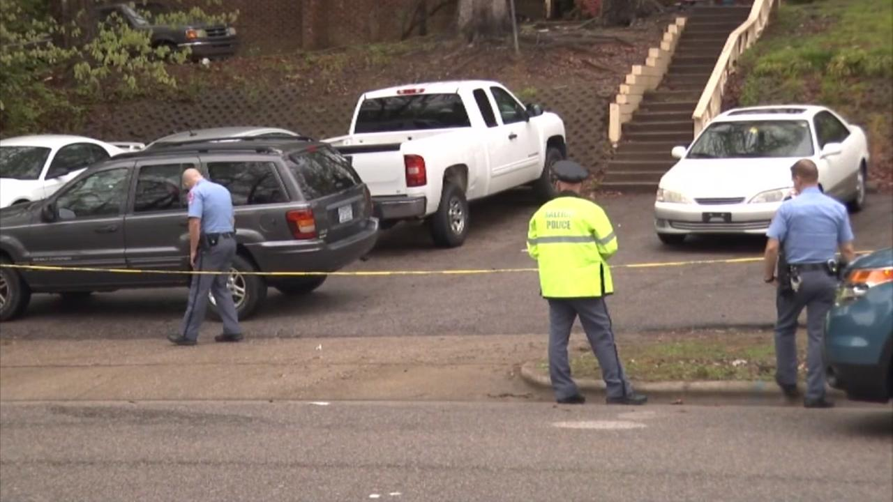 Raw video: Mom, child injured by rolling SUV