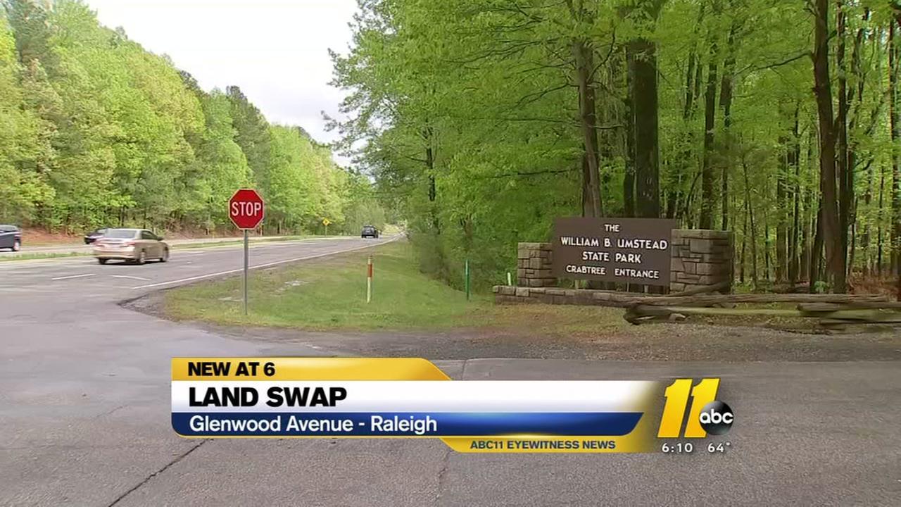 Land swap happening on Glenwood Avenue
