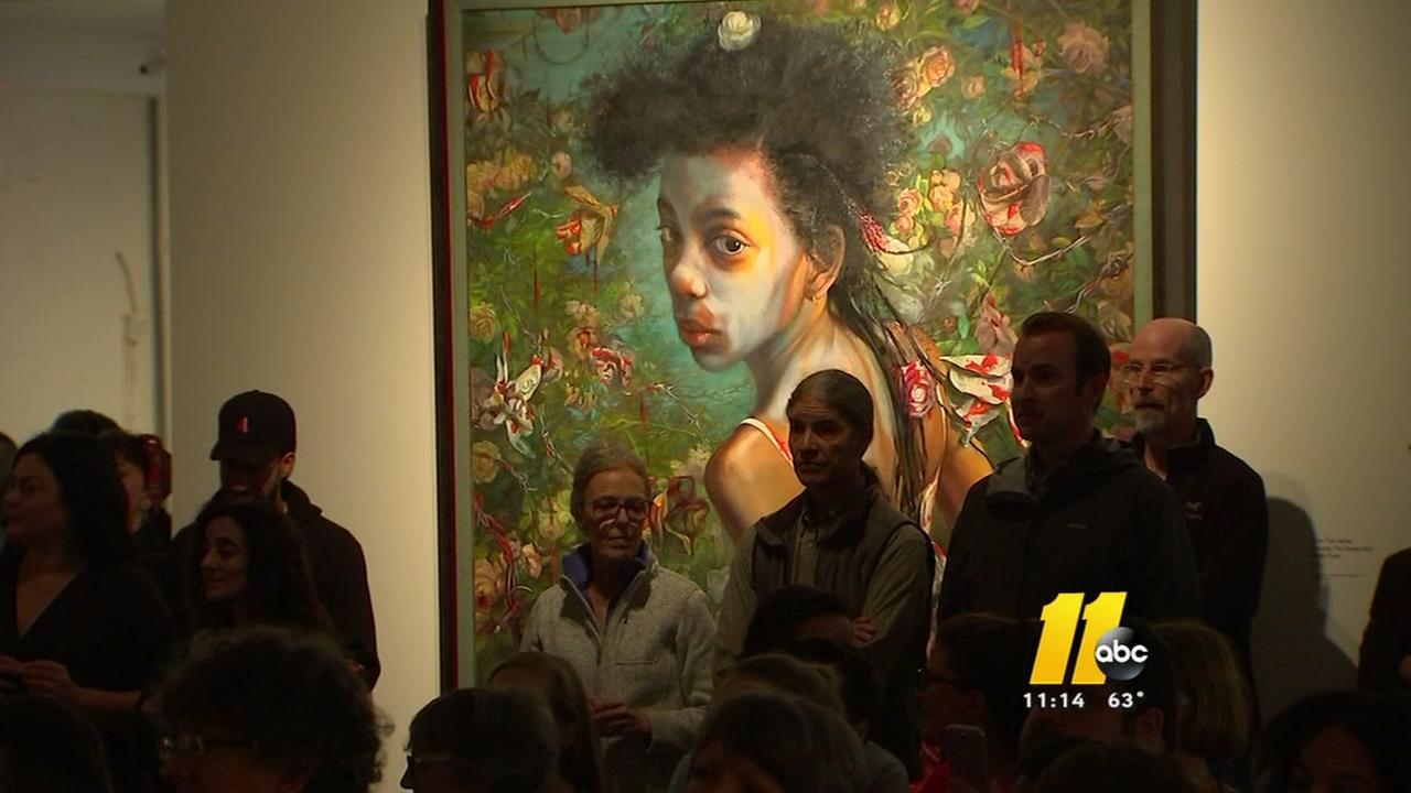 Controversial Raleigh art exhibit stirs impassioned debate