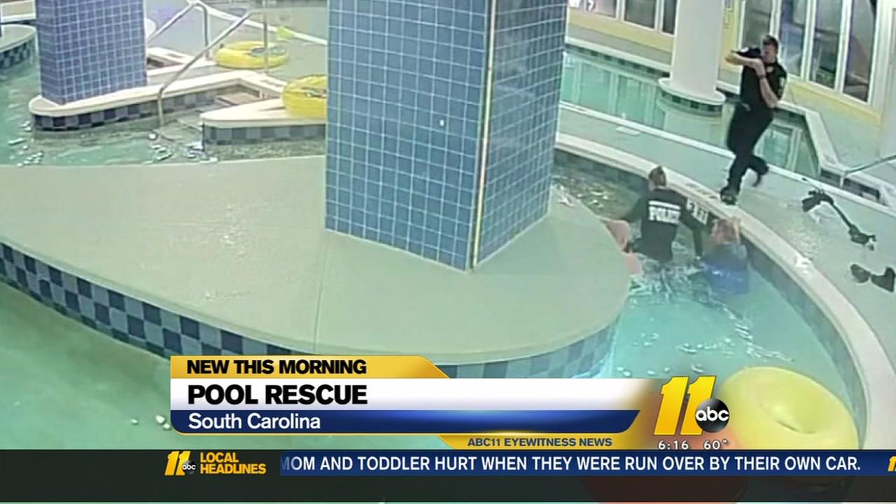 Boy stuck underwater at Myrtle beach pool for 9 minutes before being rescued