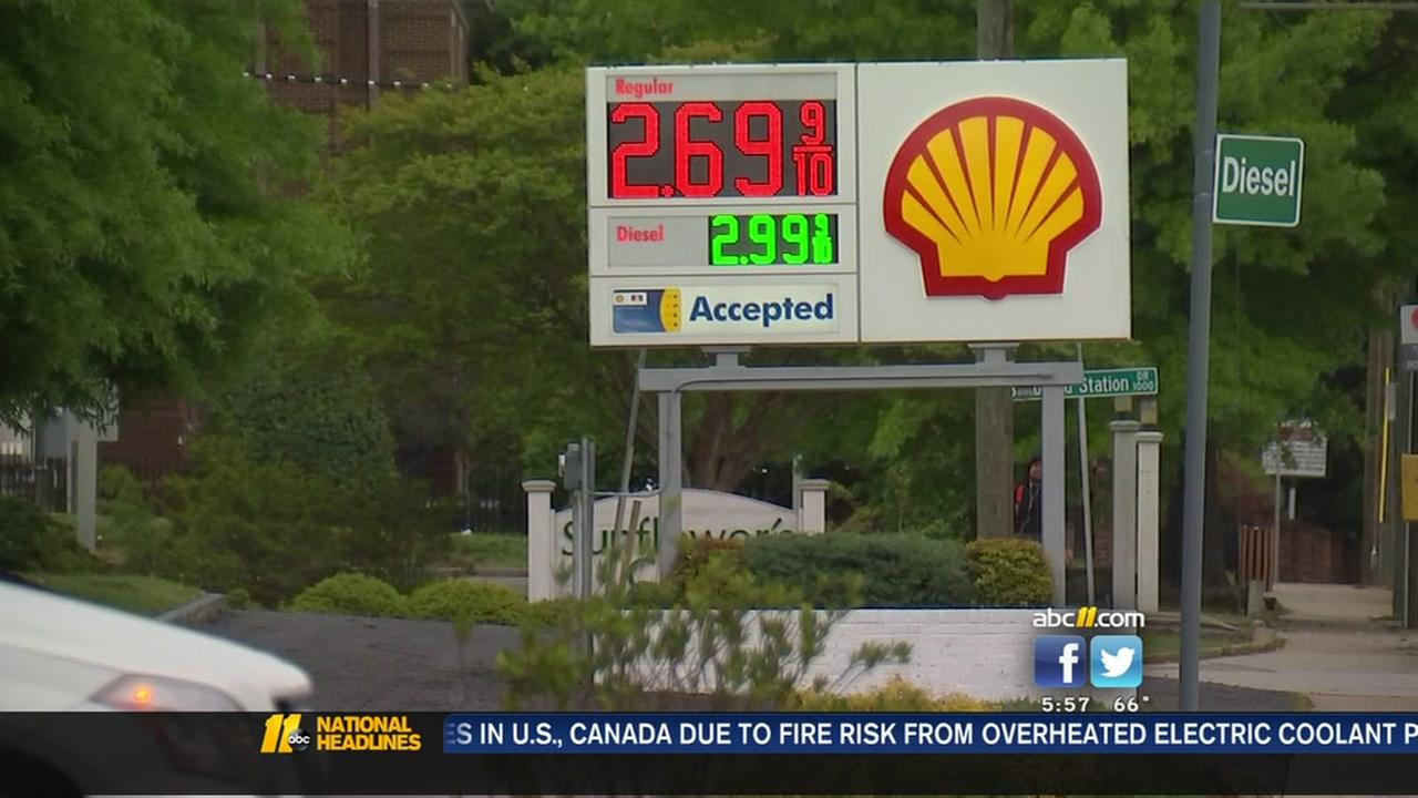 Hefty prices to stay at the pumps