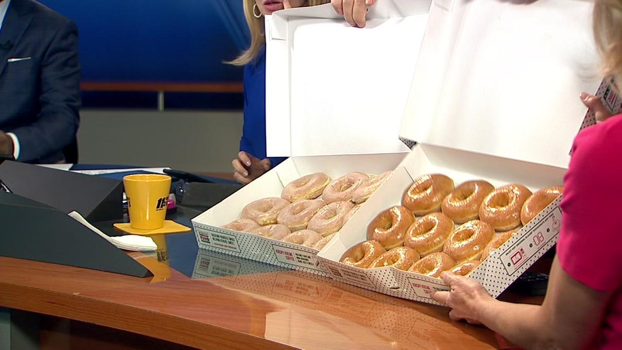 Original vs. Lemon: Which is the better Krispy Kreme doughnut