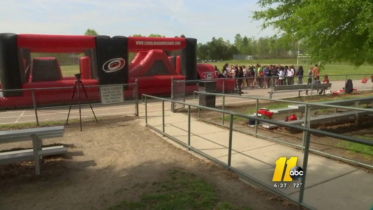 Hurricanes host field day for students