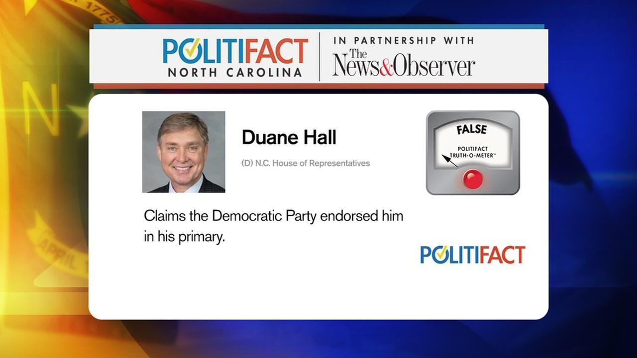 PolitiFact checks statements of two Democrats