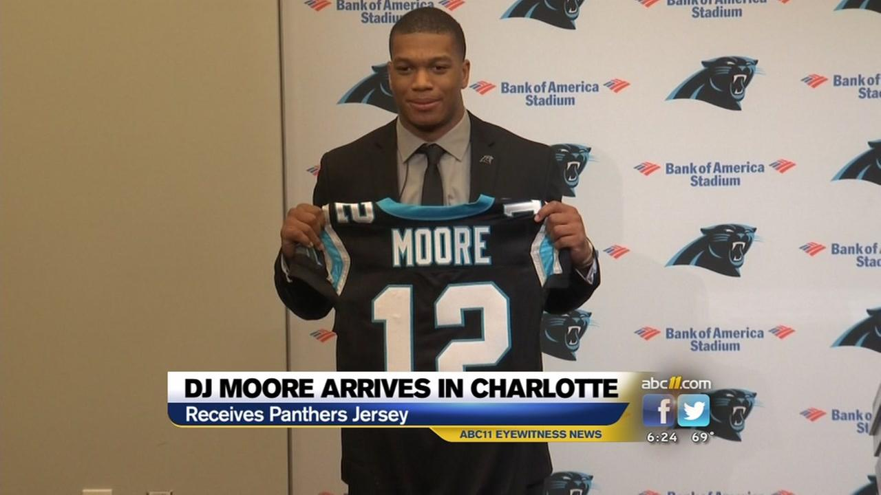 Panthers first-round pick gets his jersey