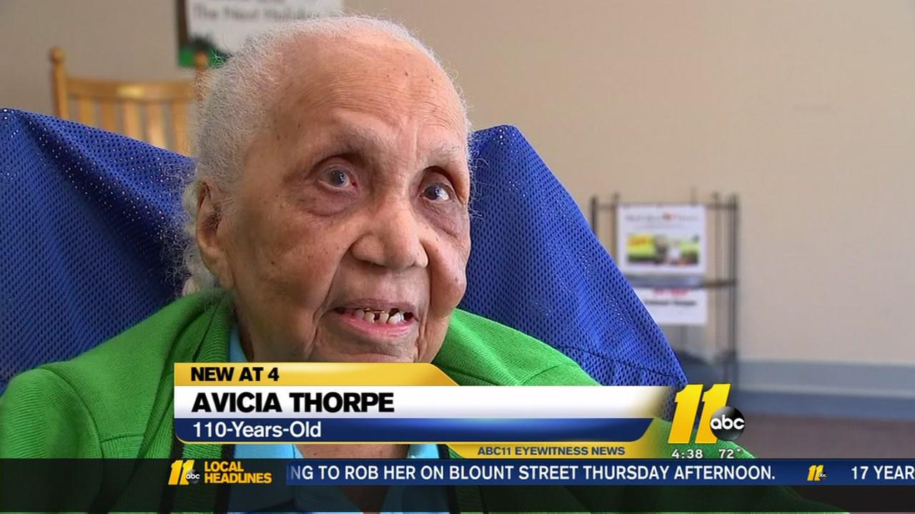 Woman celebrates 110 years
