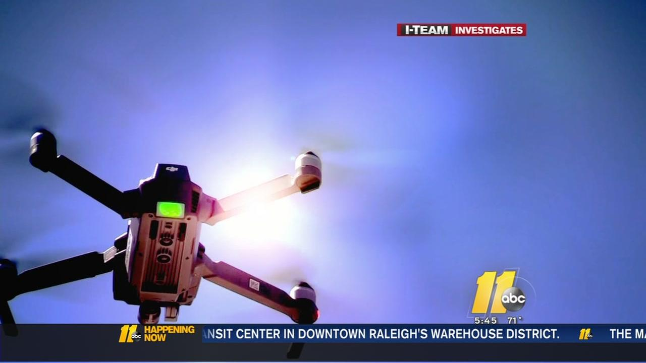 I-Team: Drones pose hazard for aircraft