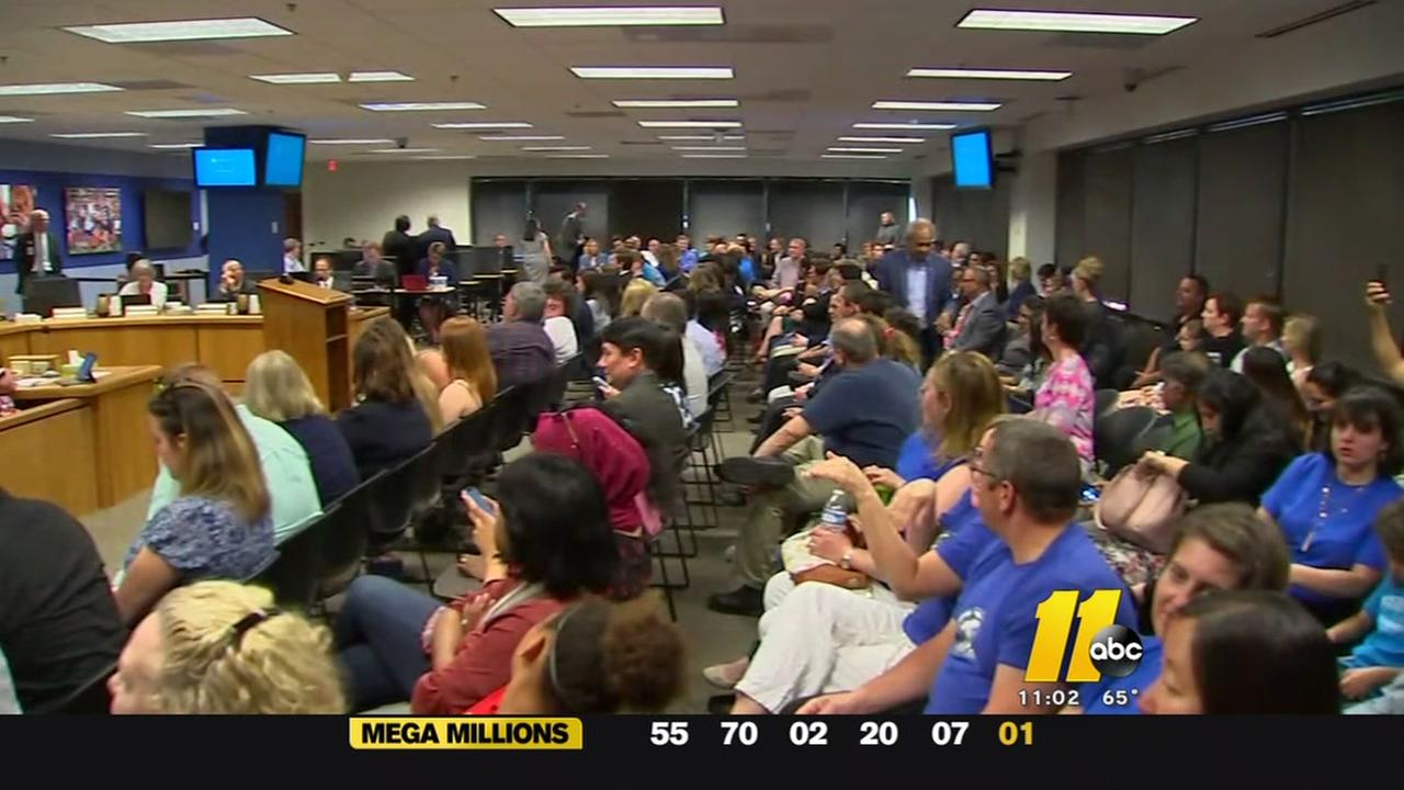 Frustrated Morrisville parents, students sound off