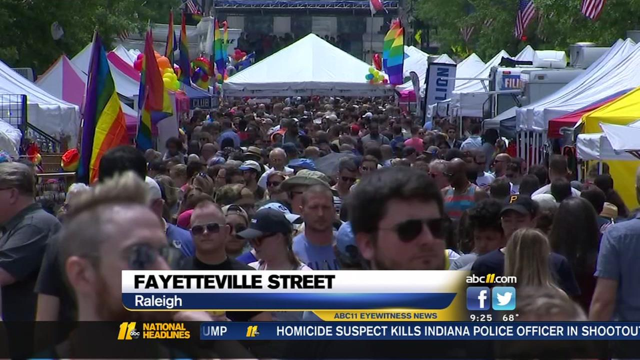 Crowds flock to Out Raleigh festival
