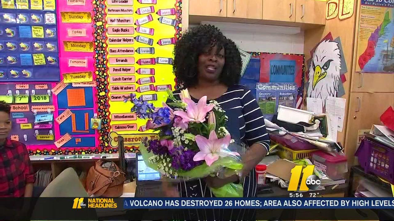 Ms. Kirtina Jones named Durham County Teacher of the Year