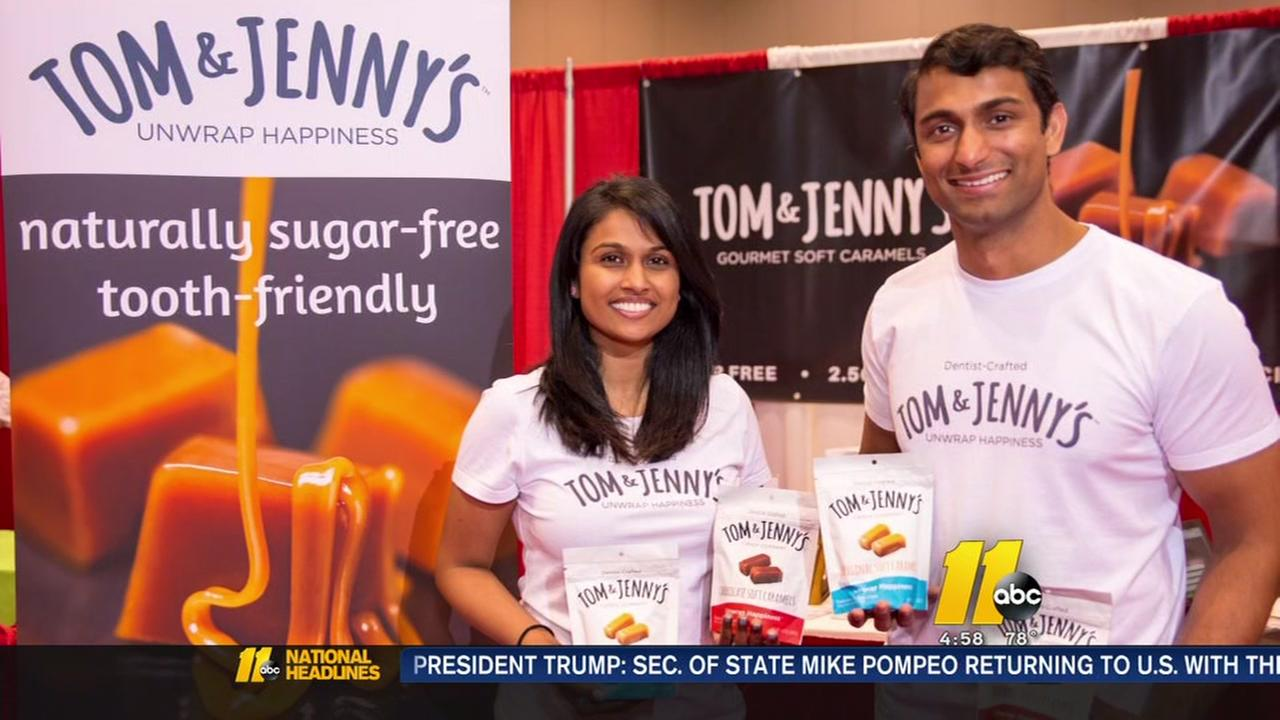 Wake county couple living the sweet life with their sugar free candy business