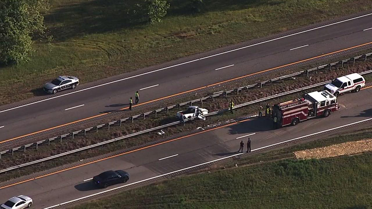Fatl accident shuts down US64 in Nash County.