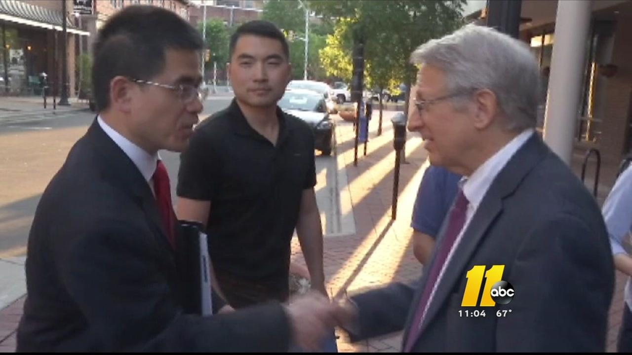 Durham mayor meets with concerned residents