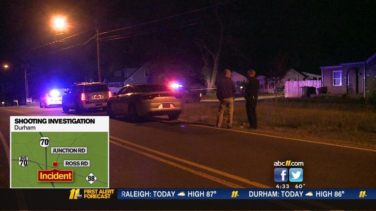 Man injured in Ross Road shooting; Durham police investigating