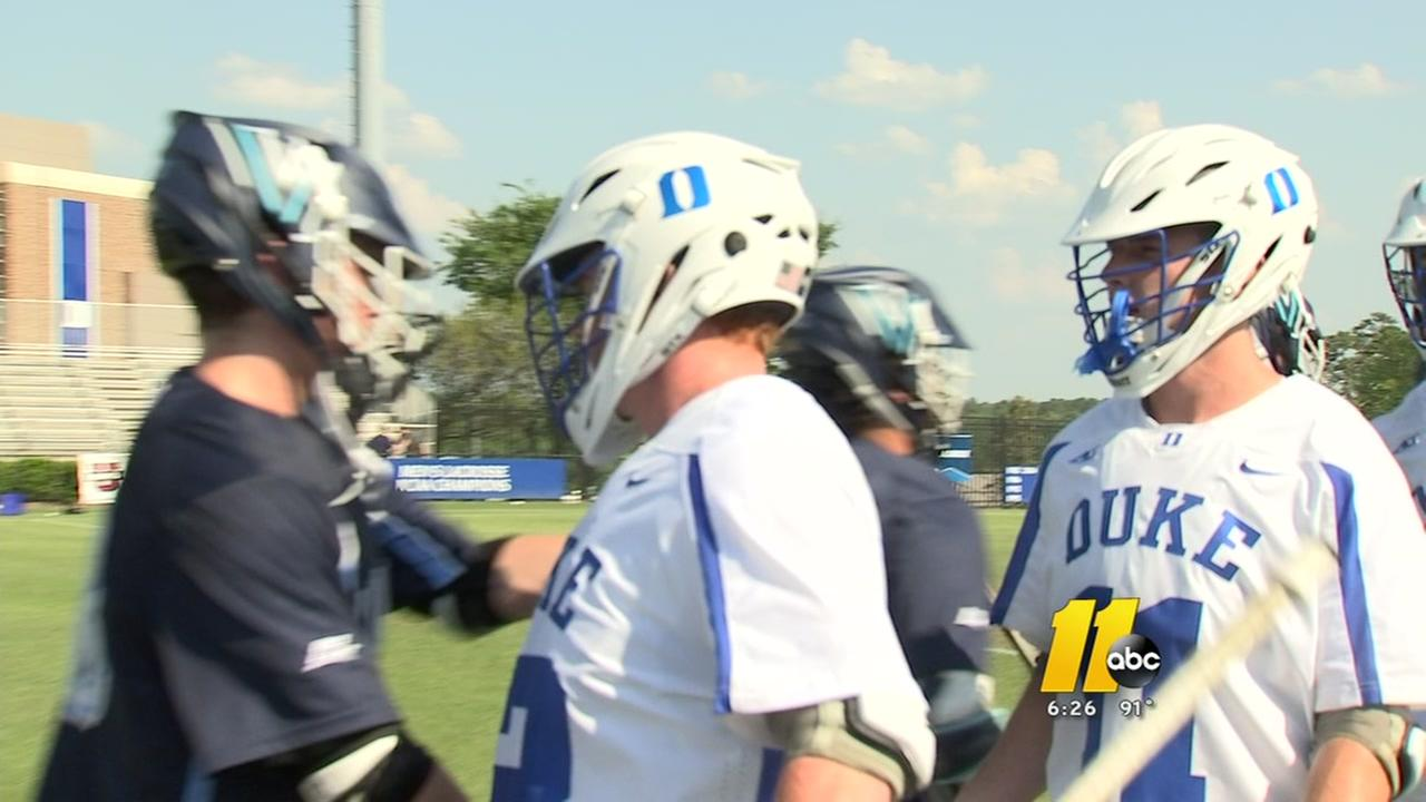 A battle between brothers as Villanova and Duke face off in lacrosse