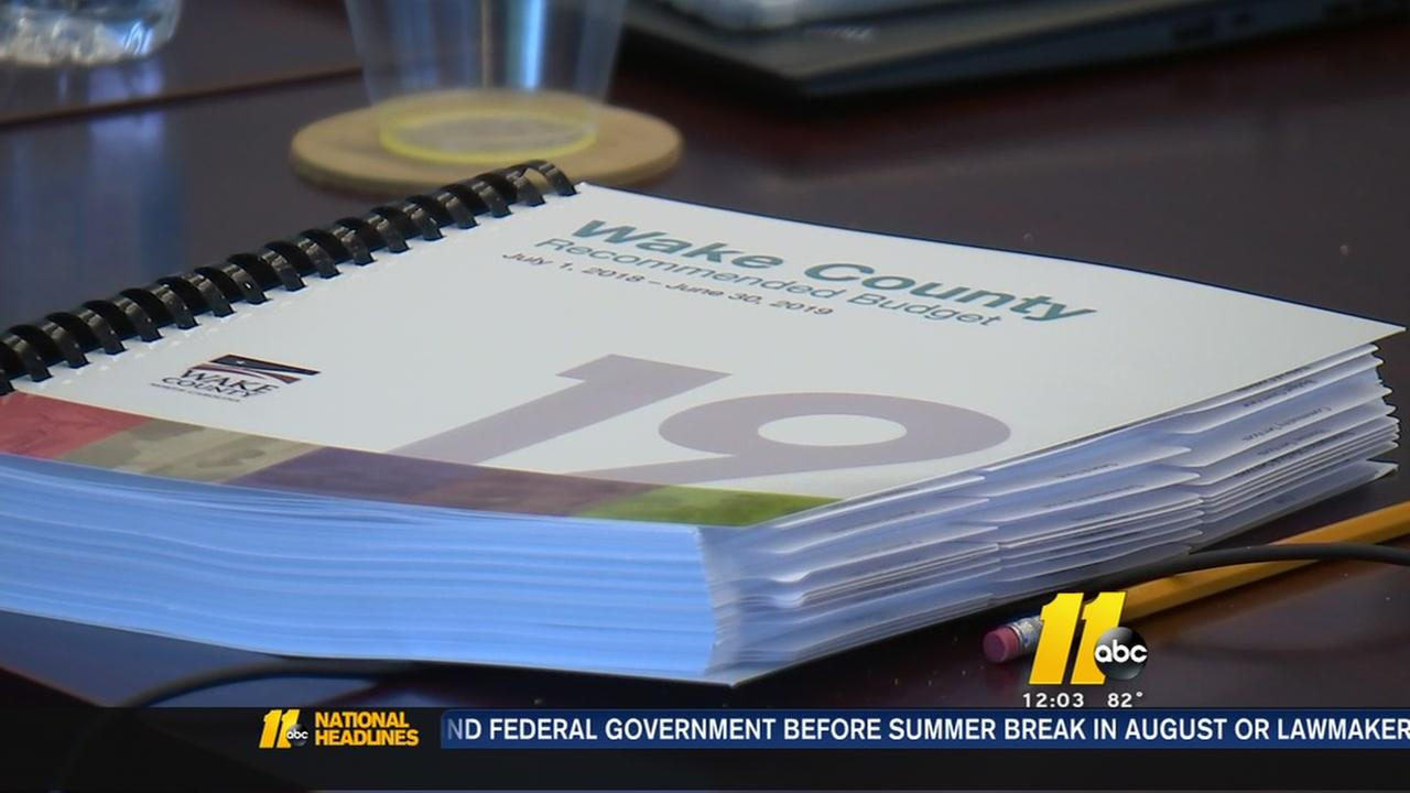Wake County leaders discuss budget increases