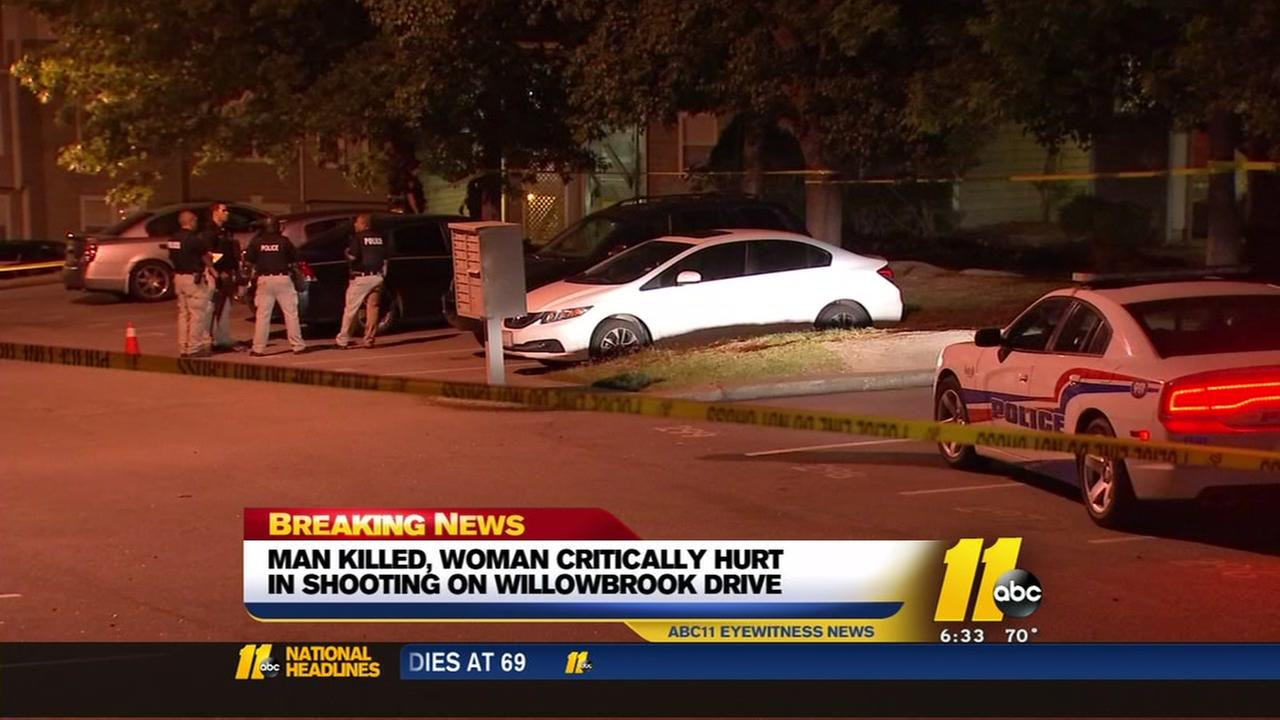 Man killed, woman critically injured in Fayetteville shooting