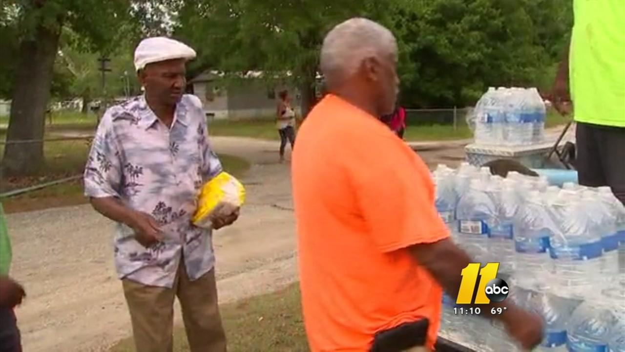 Some relief for Spring Lake residents without running water