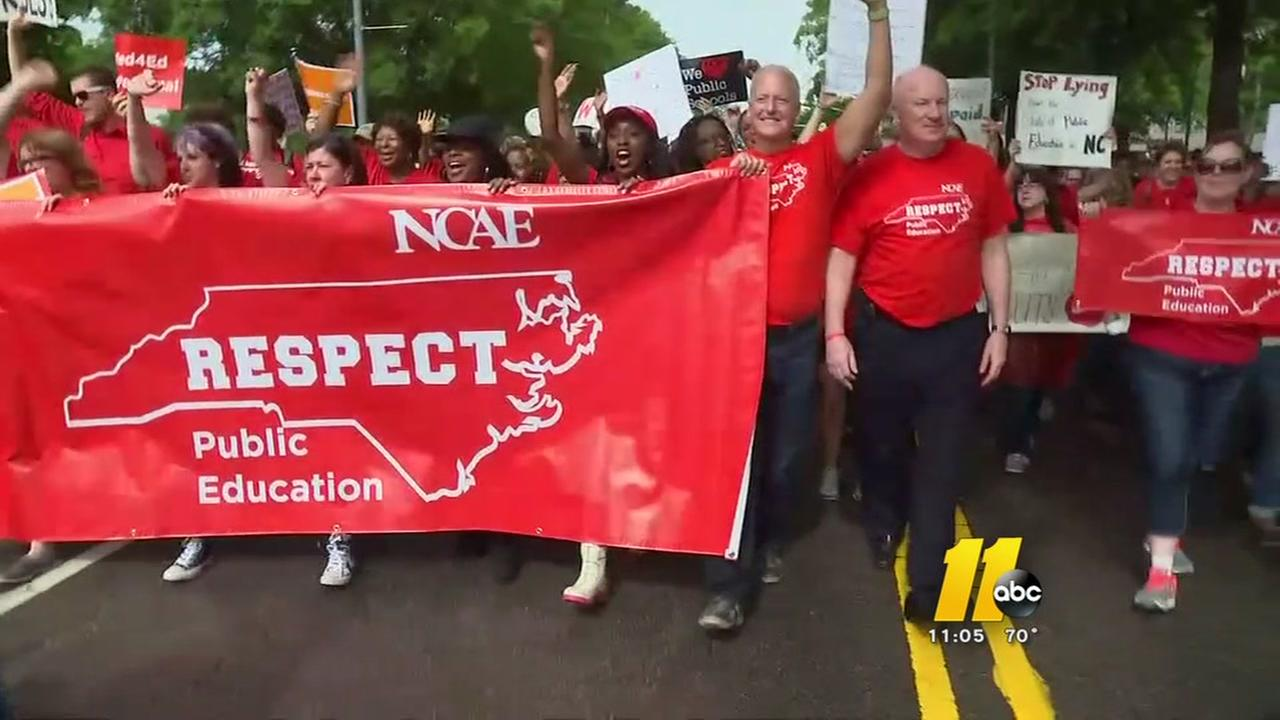 Teachers march in Raleigh; what happens now?