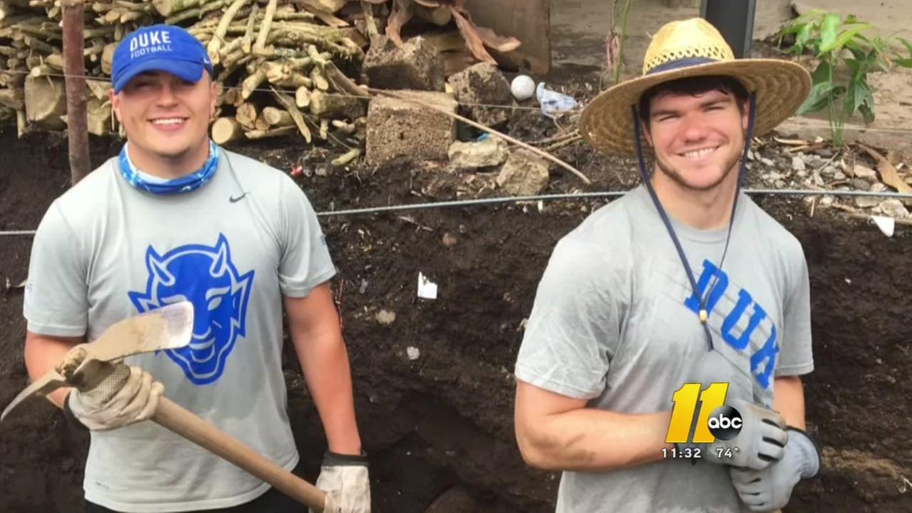 13 Blue Devils spend week building houses in Guatemala