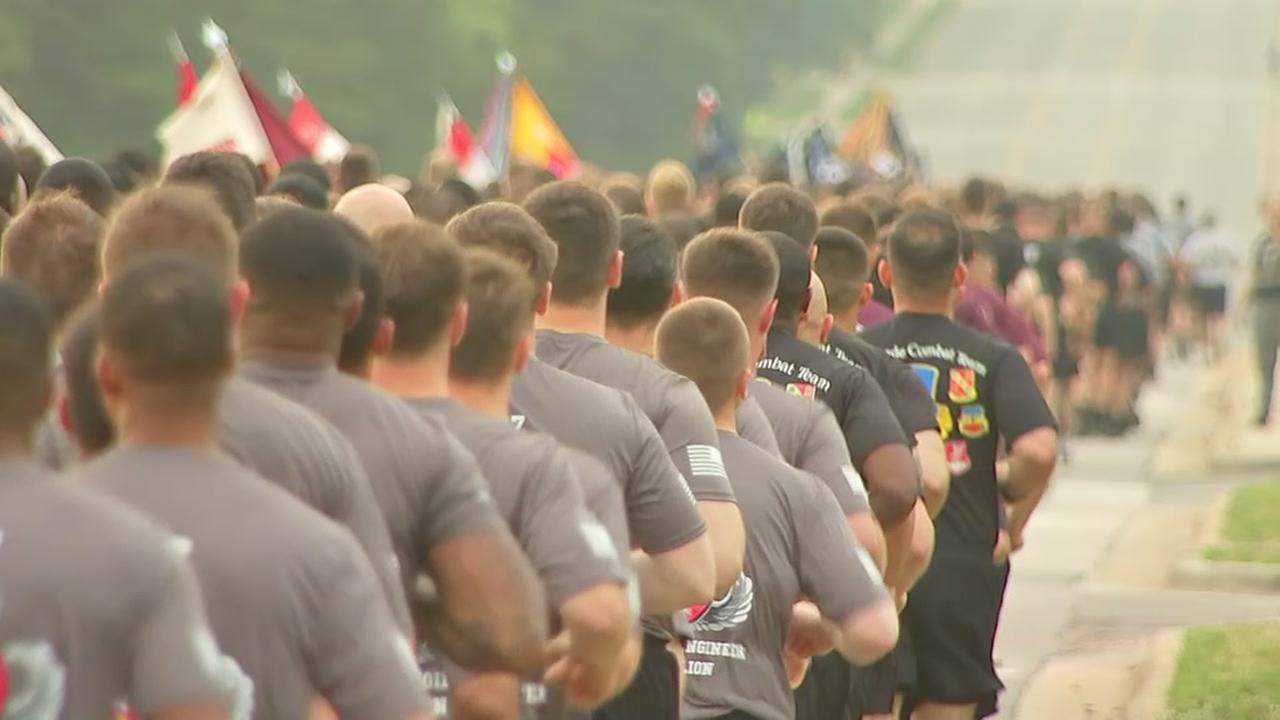 Fort Bragg kicks off 2018 All-American Week with 4-mile Division Run