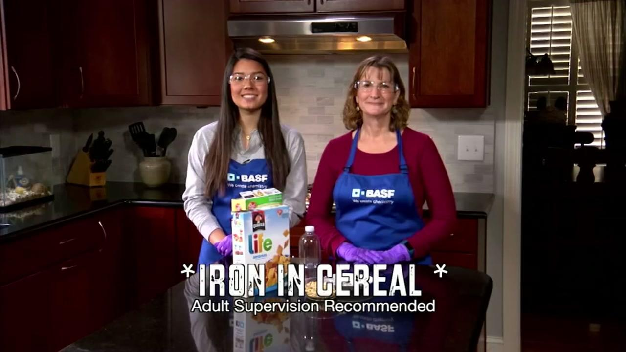 Iron In Cereal