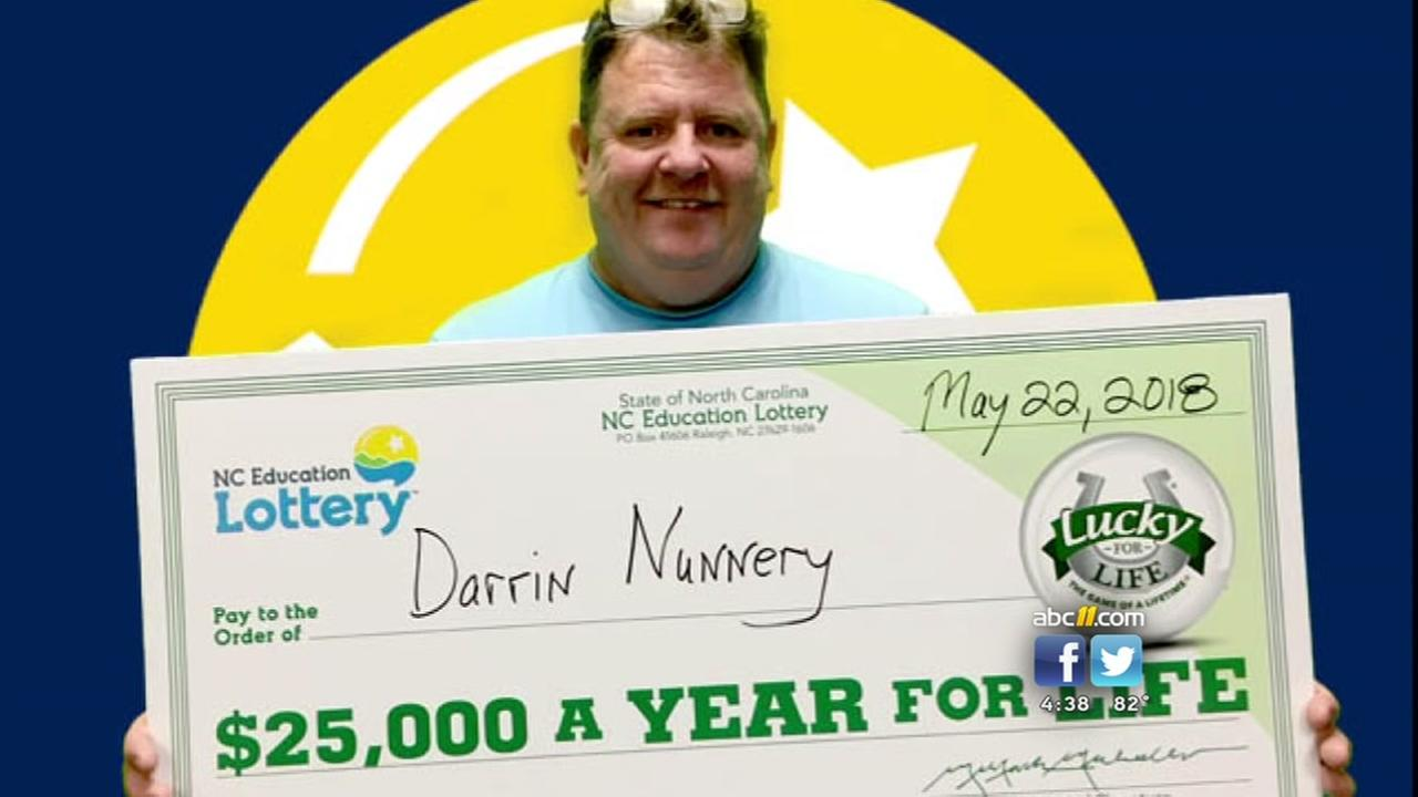Linden man strikes it rich with winning lottery ticket