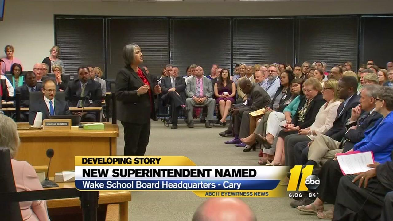 Cathy Moore named as new Wake County Superintendent
