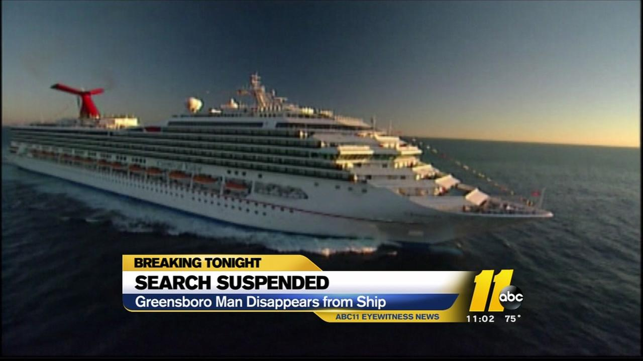 Coast Guard suspends search for Greensboro man