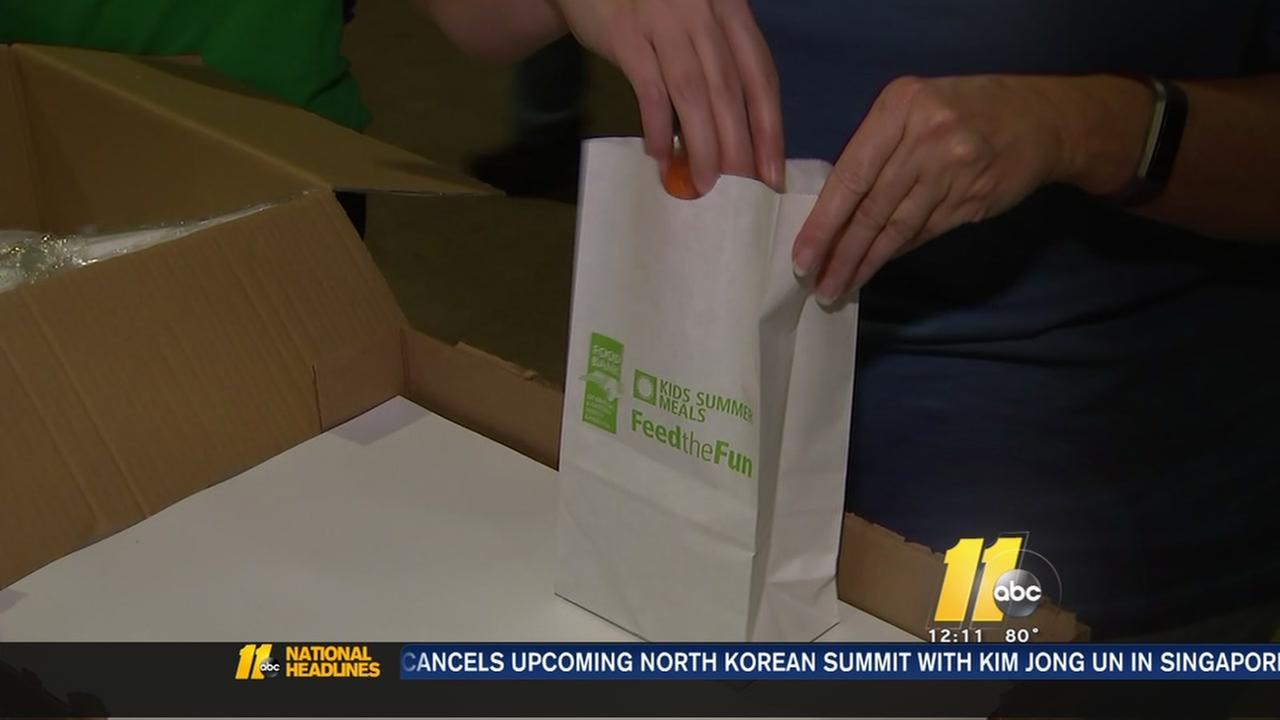 Food bank kicks off summer campaign