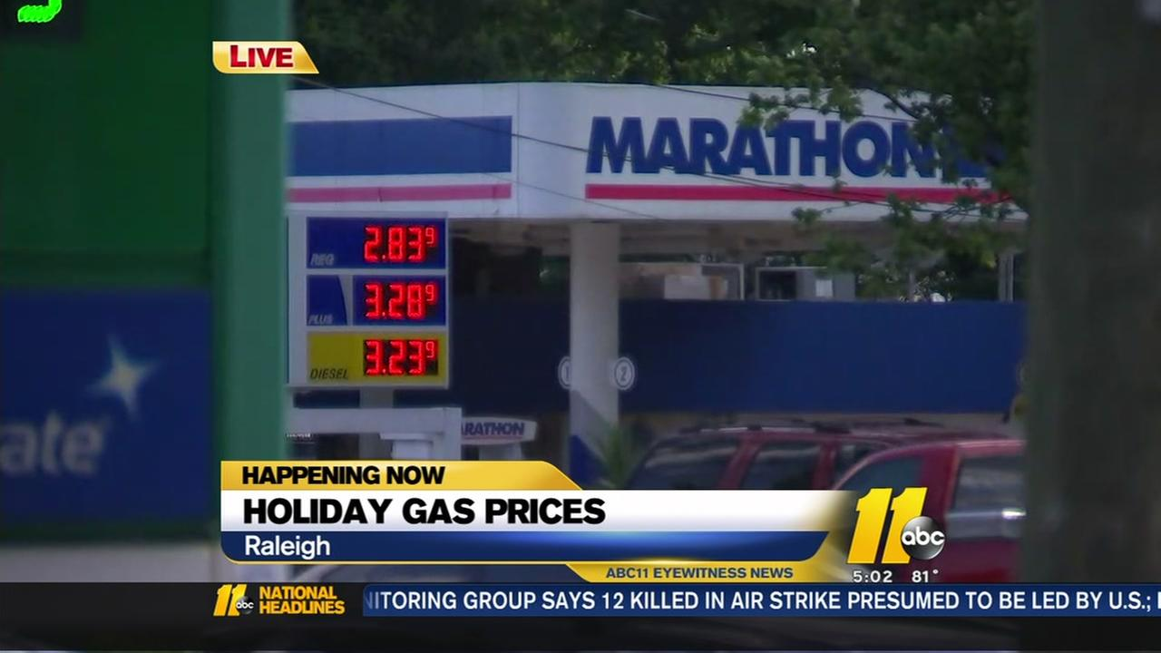 Gas prices spike ahead of Memorial Day weekend
