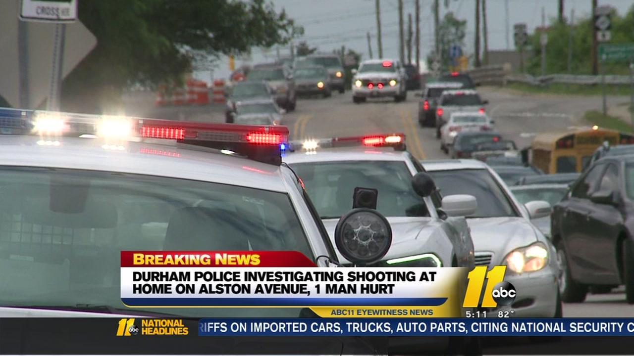 Man shot on Alston Avenue in Durham