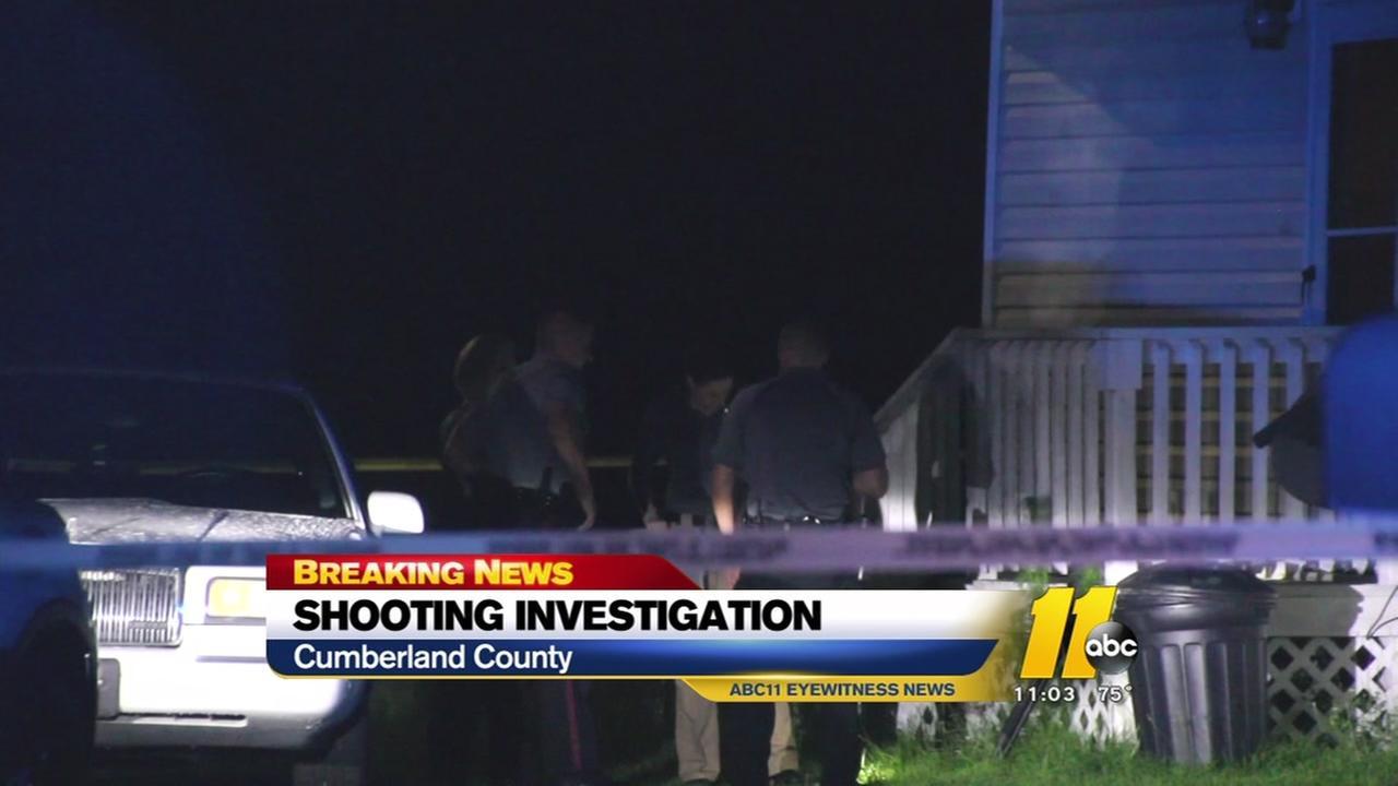 Cumberland Deputies investigate a shooting