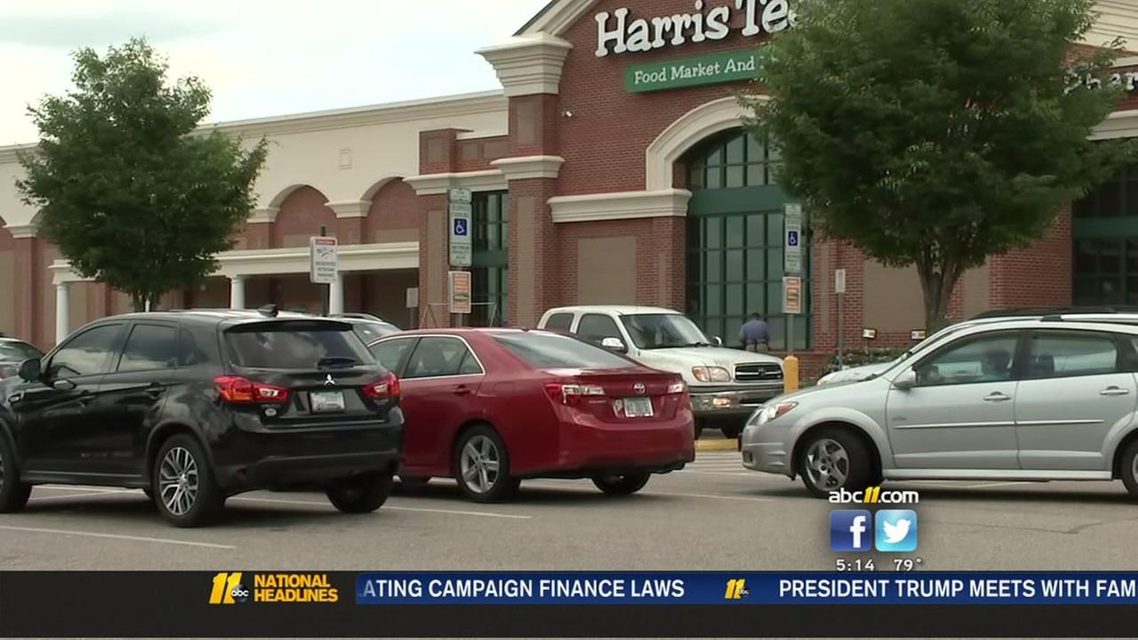 Disturbing robbery at Durham Harris Teeter
